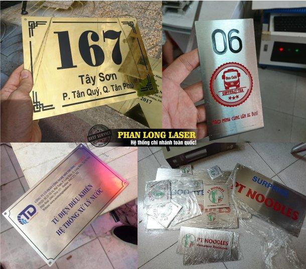Dịch vụ ăn mòn tạo hình trên kim loại, làm biển số nhà inox, đồng, nhôm, làm tem nhãn mác kim loại giá rẻ tại Tphcm Sài Gòn, Hà Nội, Đà Nẵng và Cần Thơ