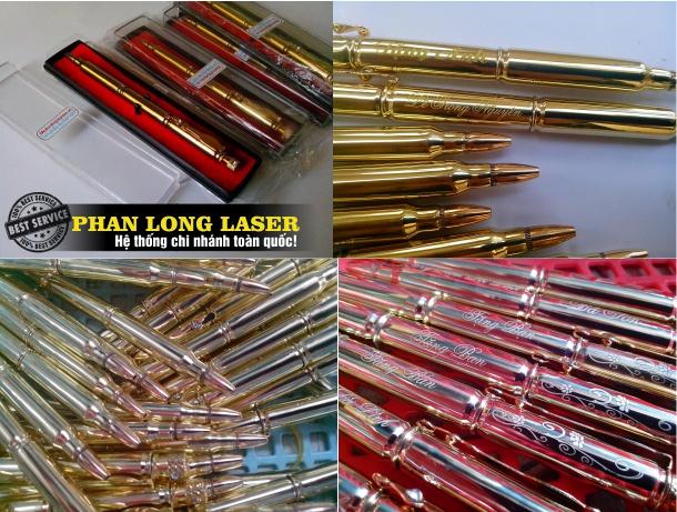 Bán Bút Viết Vỏ đạn Đại liên Khắc Tên tại Đà Nẵng, Sài Gòn, Hà Nội