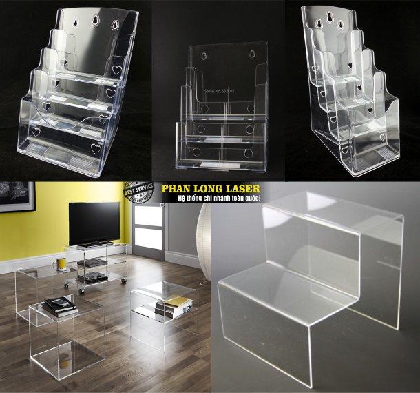 Cơ sở nhận làm hộp mica, kệ mica, hộp nhựa acrylic, kệ nhựa acrylic giá rẻ lấy ngay