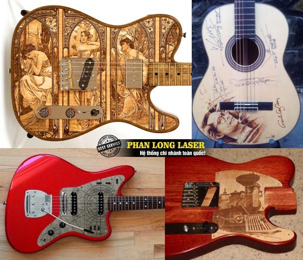 Điêu khắc nghệ thuật lên nhạc cụ đàn guitar theo yêu cầu tại Tp Hồ Chí Minh, Sài Gòn, Đà Nẵng, Hà Nội và Cần Thơ
