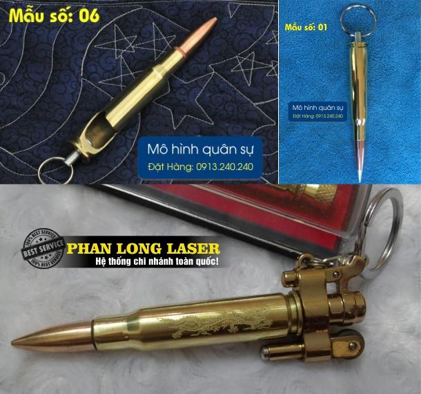 Sản xuất móc khóa vỏ đạn cát tút tại Đà Nẵng, TPHCM, Hà Nội