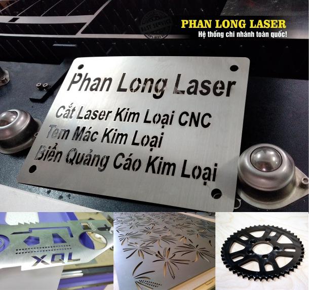 Cắt Laser trên Kim loại tại Xưởng Phan Long Laser Tphcm Sài Gòn và Hà Nội