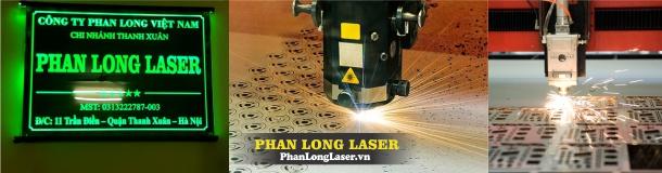 Gia Công Laser tại Công ty Phan Long Laser