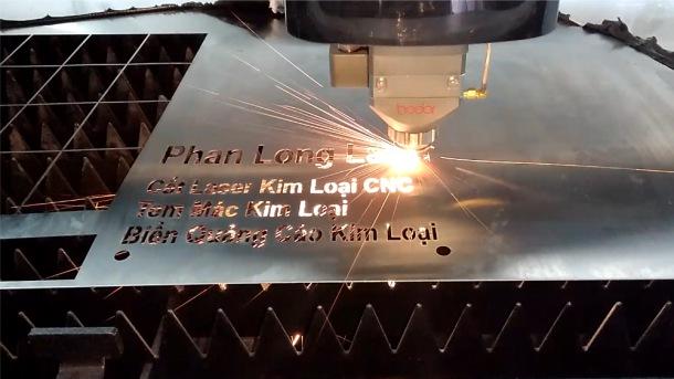 Cắt Laser trên Kim Loại, Inox, Đồng Nhôm Sắt Thép, Cắt Chữ kim loại, đục lỗ kim loại giá rẻ