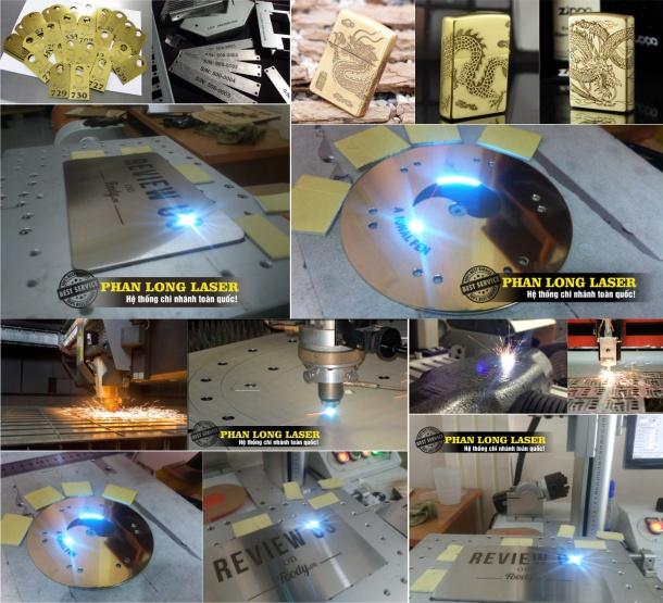 Cắt Kim loại bằng máy Laze Fiber tại Quận HBT HN