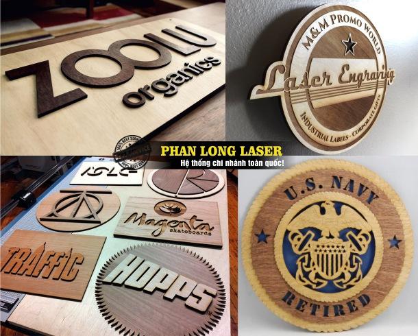 Công ty chuyên nhận cắt gỗ, cắt chữ gỗ, cắt tạo hình logo hoa văn trên gỗ bằng máy laser uy tín giá rẻ tại Tphcm Sài Gòn, Đà Nẵng, Hà Nội và Cần Thơ