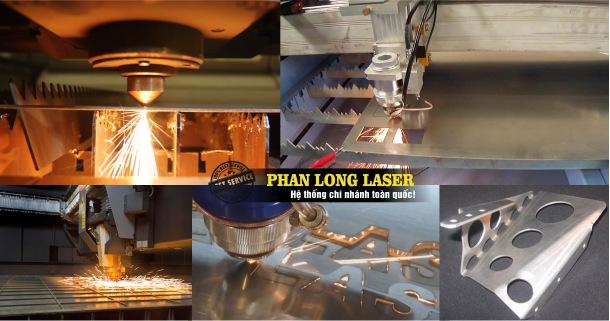 Địa chỉ Xưởng Cắt Chữ và đục lỗ trên kim loại đồng nhôm sắt thép bằng máy laser giá rẻ