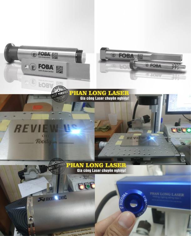 Cắt và khắc laser theo yêu cầu lên Kim Loại lấy liền giá rẻ