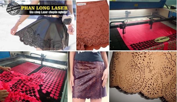 Cắt Laser trên vải vóc, Quần Áo Thời trang tại Hà Đông