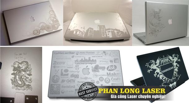 Khắc Chữ khắc hình lên Iphone, IPad, Máy tính xách tay tại Sài Gòn HCM, Đà Nẵng, Cần Thơ, Hà Nội