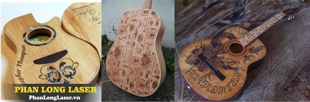 Khắc chữ khắc tên lên đàn ghita tây ban cầm