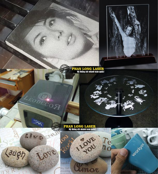Hình ảnh khắc đá quà tặng, khắc đá bia mộ, khắc hình ảnh chân dung lên đá và thủy tinh tại Xưởng Tp Hồ Chí Minh, Hà Nội, Đà Nẵng và Cần Thơ