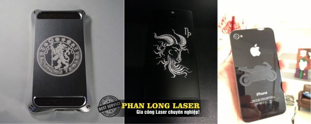 Khắc Laser lên điện thoại Iphone tại Đà Nẵng và Cần Thơ