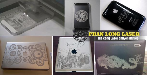 Địa chỉ Khắc Iphone, Ipad tại Đà Nẵng, Hà Nội, HCM, Cần Thơ