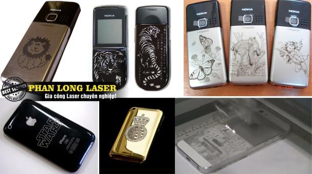 Khắc laser lên điện thoại Iphone ở đâu đẹp và giá rẻ