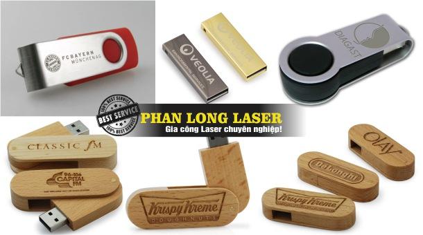 Địa chỉ Khắc Laser lên USB tại Tân Phú, Bình Thạnh, Gò Vấp TPHCM Sài Gòn