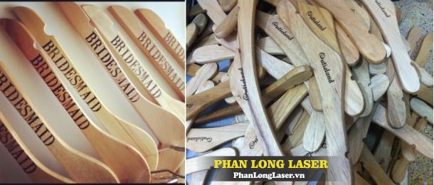 Khắc Móc Áo bằng Gỗ, Kim Loại, bằng nhựa tại Sài Gòn HN