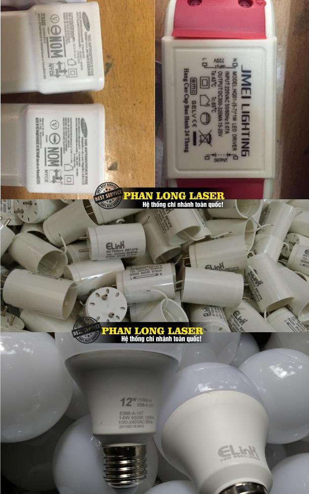 Khắc thông số kỹ thuật, khắc mã vạch lên nhựa theo yêu cầu giá rẻ