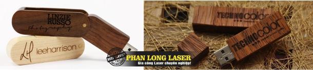 In Khắc Laser trên USB