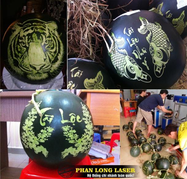 Địa chỉ Khắc Dưa Hấu bằng tia Laser tại Ngũ Hành Sơn, Hòa Vang, Sơn Trà, Đà Nẵng