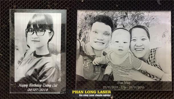 Khắc hình ảnh chân dung lên thủy tinh pha lê gốm sứ theo yêu cầu tại Tp Hồ Chí Minh, Hà Nội, Đà Nẵng và Cần Thơ