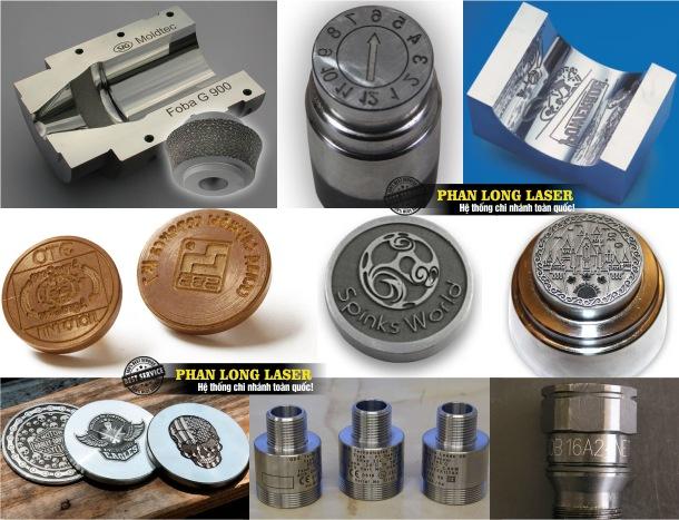 Khắc laser tạo hình trên khuôn mẫu đồng nhôm sắt thép giá rẻ