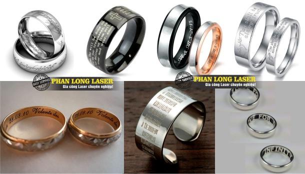 Khắc laser theo yêu cầu lên nhẫn tại Tp Hồ Chí Minh, Hà Nội, Đà Nẵng và Cần Thơ
