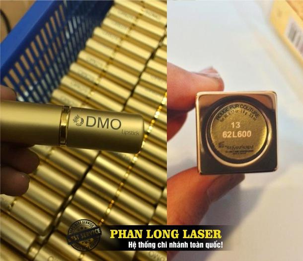 Địa chỉ cơ sở chuyên nhận gia công khắc laser theo yêu cầu lên thân vỏ thỏi son môi giá rẻ toàn quốc