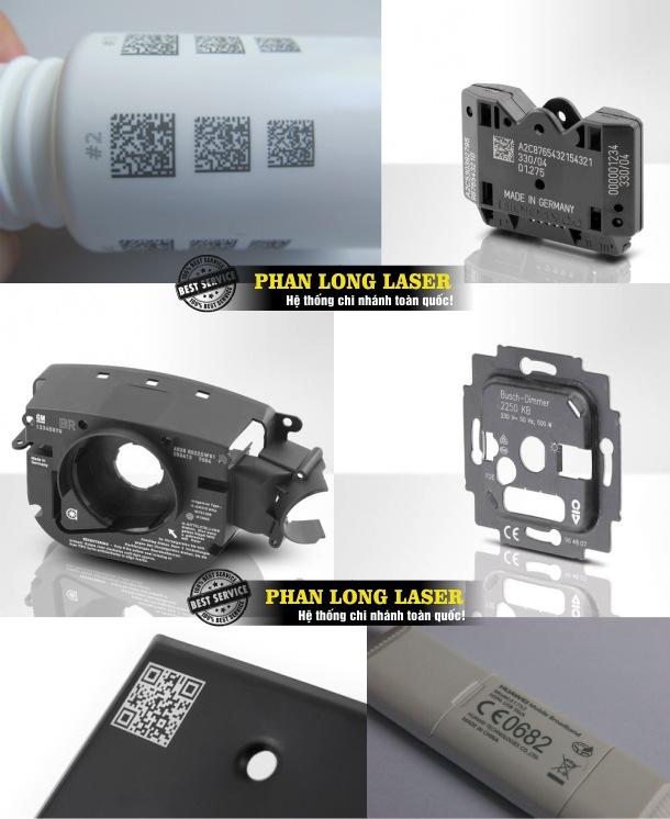 Địa chỉ khắc laser, khắc logo thương hiệu, khắc thông số kỹ thuật lên nhựa theo yêu cầu giá rẻ