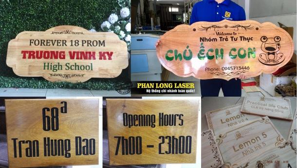 Địa chỉ xưởng nhận làm biển số nhà bằng gỗ giá rẻ tại Tp Hồ Chí Minh, Sài Gòn, Đà Nẵng, Hà Nội và Cần Thơ