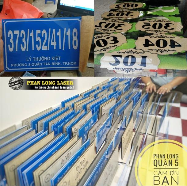 Địa điểm công ty nhận làm biển bảng số nhà bằng nhựa mica tại Tp Hồ Chí Minh, Đà Nẵng, Hà Nội và Cần Thơ giá rẻ