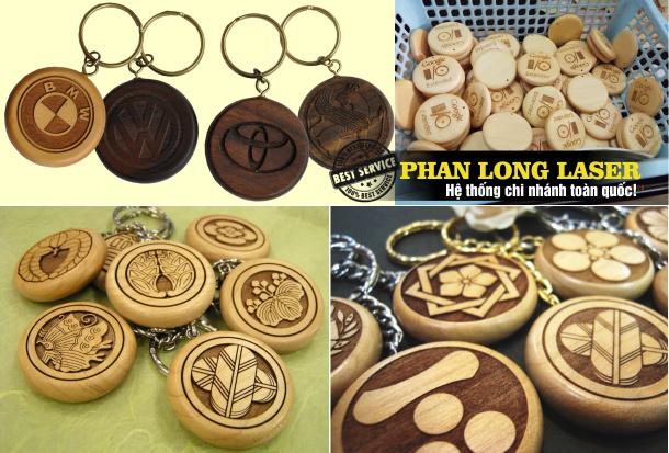 Địa chỉ bán móc khóa gỗ làm quảng cáo công ty tại Đà Nẵng, Sài Gòn, Hà Nội