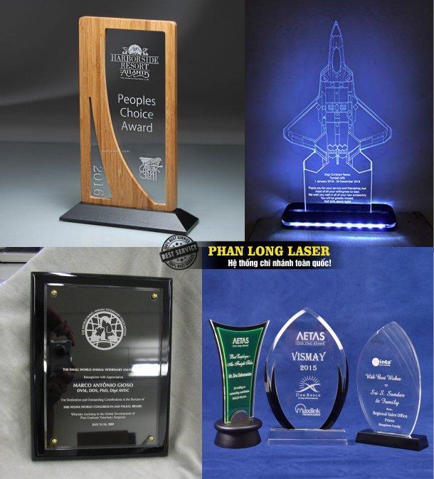 Công ty thiết kế sản xuất làm kỷ niệm chương bằng nhựa acrylic, cúp mica, biểu trưng, bảng vinh danh mica tại Tphcm Sài Gòn, Hà Nội, Đà Nẵng và Cần Thơ