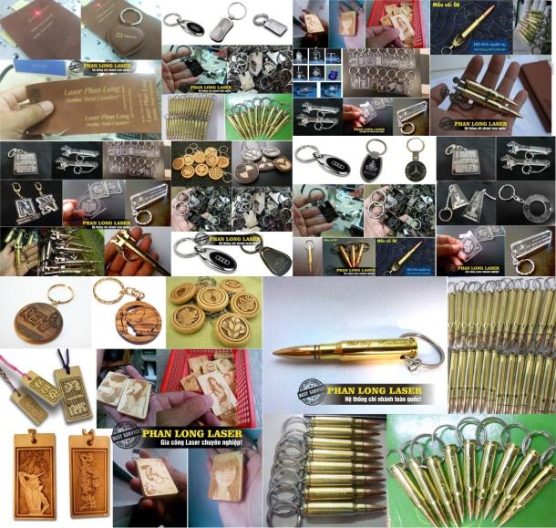 Sản xuất làm móc khóa khắc hình, khắc hoa văn, khắc logo, khắc thư pháp, khắc chữ khắc tên tại Đà Nẵng, Hà Nội, Sài Gòn Tphcm