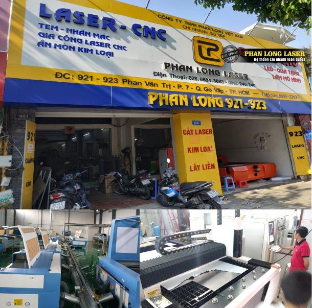 Xưởng Gia Công Cắt Khắc Laser Phan Long tại Sài Gòn & Hà Nội, Đà Nẵng & Cần Thơ