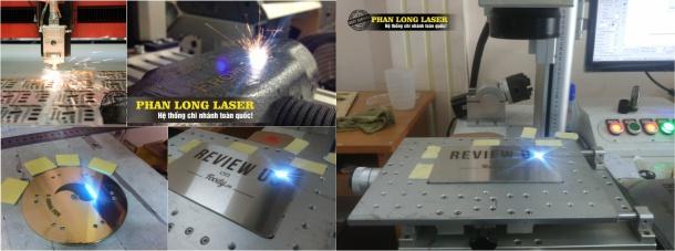Khắc Kim Loại bằng Laser Fiber tại Quận Hai Bà Trưng Hà Nội