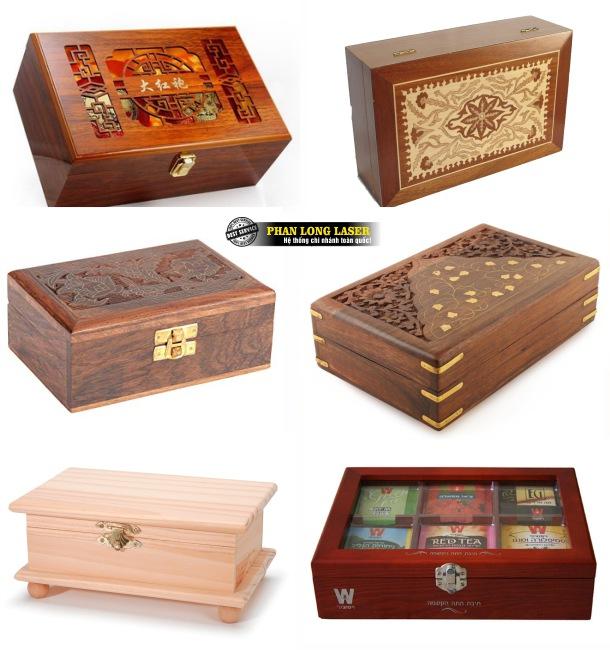 Một số sản phẩm hộp quà tặng gỗ, hộp đựng nữ trang bằng gỗ, hộp đựng trang sức gỗ đẹp mắt làm theo yêu cầu